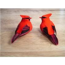 """Cardinal Red w/Clip Asst*2 5"""""""