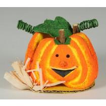 Pumpkin Jack O Lantern All Around w/Base