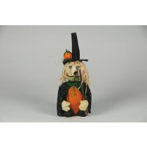 Witch w/Pumpkin on Hat 8.5""