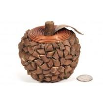 "Apple Brown Woodchip 3"""
