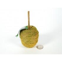 Apple Grn/Brn Woven Rope
