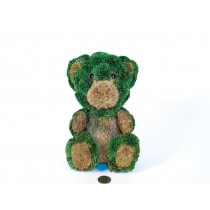 Bear Green/Brn Jute Sitting 7.5""