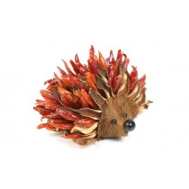 Chili Pepper Hedgehog /Cotton Pod 5""