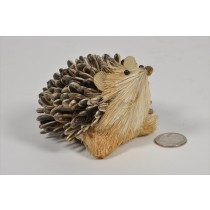 Hedgehog Nat. Seed/Jute Head Up 4""