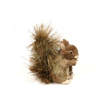 Squirrel Brown Grass w/Bushy Tail Standing 5""