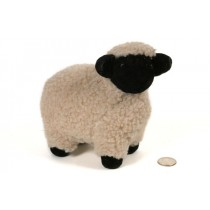 Sheep Beige Fur w/Black Face 6.5""