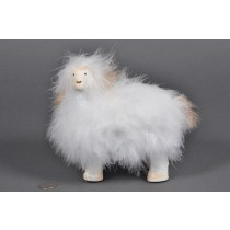 Sheep Fuzzy White 7""