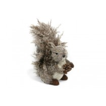 """Squirrel Brown/Gray Grass w/Bushy Tail Standing 12"""""""