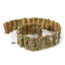 "Fence Birch Bark/Moss 3""x40""L"