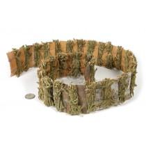 "Fence Birch Bark/Moss 3""x40""L"