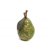 "Pear Green Mosaic Shell 5.5"""