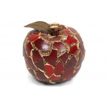 Apple Red Mosaic Shell 3""