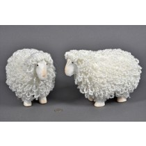 Sheep White Yarn 8""