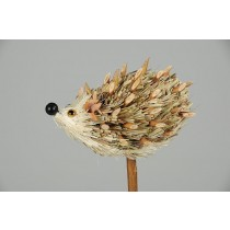 Hedgehog Green Grass Pick 3""