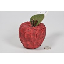 Apple Red Seed Pod 3.5""
