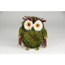 "Owl Green Moss & Twig 5"""