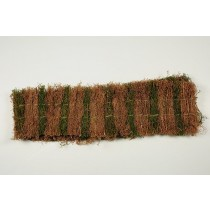 "Fence Brown/Green Grass 7""x48""L"