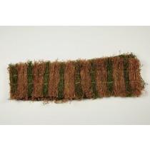 "Fence Brown/Green Grass 7""x48""L"