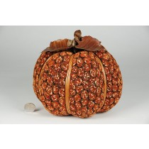 "Pumpkin Orange Leaf Bundling 8""x5.5"""