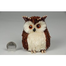 Owl Jute Twigs 3""
