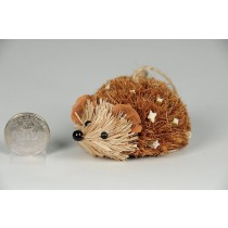 Hedgehog Brown Moss w/Twig Lying 2""