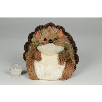 Hedgehog Brown/Grn Grass w/Pod 4""