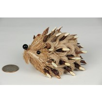Hedgehog Brown Jute Rope w/Twig 4""