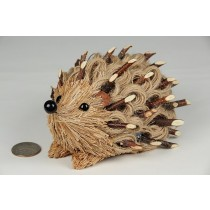 Hedgehog Brown Jute Rope w/Twig 6""