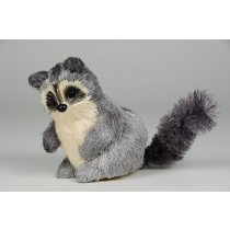 Raccoon Grey Jute 4""
