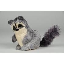 "Raccoon Grey Jute 4"""