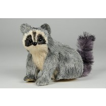 Raccoon Grey Jute 5""