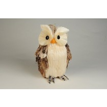 """Owl Jute/Bark 6.5"""""""