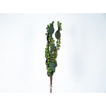 Berry Green Spray w/Leaf Long 16""