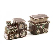 Train Head & Carriage Chocolate 4""