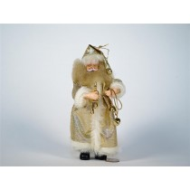 Santa Gold Long Robe Standing