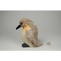 "Penguin Lte Brn Jute Face Down w/Glit 7"""