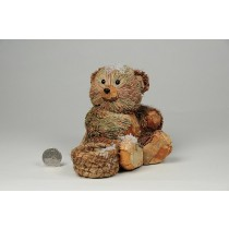 Bear Brn/Grn Grass w/Snow/Basket 5.5""