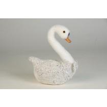 """Swan Glity Silver 6.5"""""""