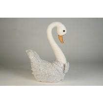 """Swan Glity Silver 13.5"""""""