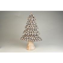 """Tree Nat./Silver Half Cones 12"""""""
