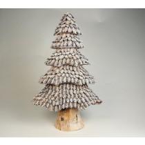 """Tree Nat./Silver Half Cones 20"""""""
