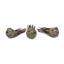 """Bird Green Leaf Twig 5"""""""