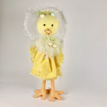 Chick Cartoon Yellow Standing 28""