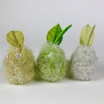 Pear Grn/Yel/Wht Glittz Asst*3
