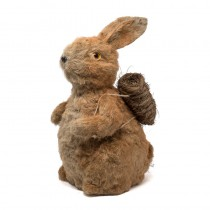 Rabbit Brown Jute 13""