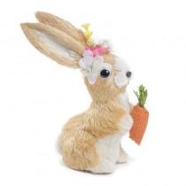 "Rabbit Beige/Wht Sisal w/Carrot 7.5"""