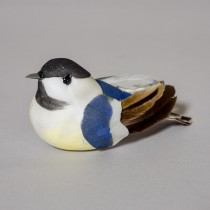 Bird Chickadee Grey 3""