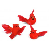 Cardinal Red Flying 2.5""