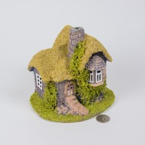 Cottage w/Stone Chimney 5""