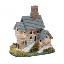 House Blue Shingle Roof 6x5x6""